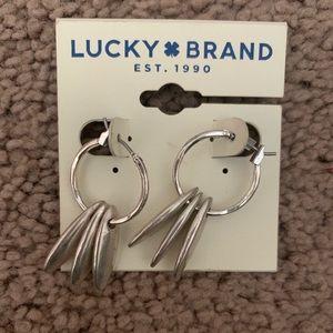 NWT Gorgeous Lucky Brand Earrings